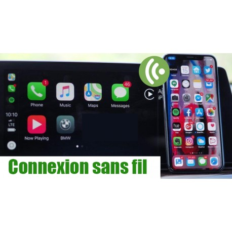 Interface Apple Carplay Android auto AUDI MMI3G/3G+