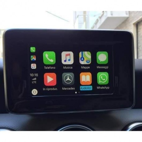 Interface Apple Carplay Android auto MERCEDES NTG 5.0/5.1/5.2
