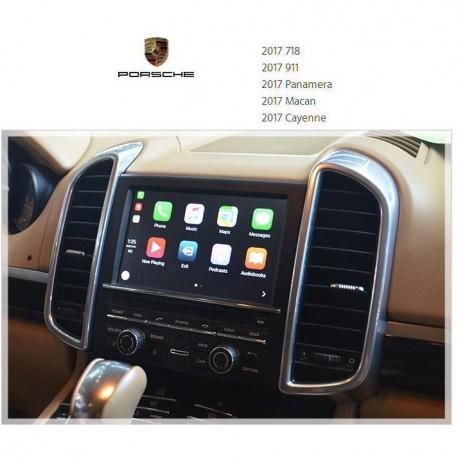 Interface Carplay/Android auto Porsche avec PCM 3.1