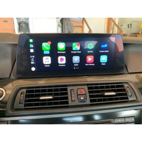 Interface Apple Carplay Android auto BMW NBT EVO